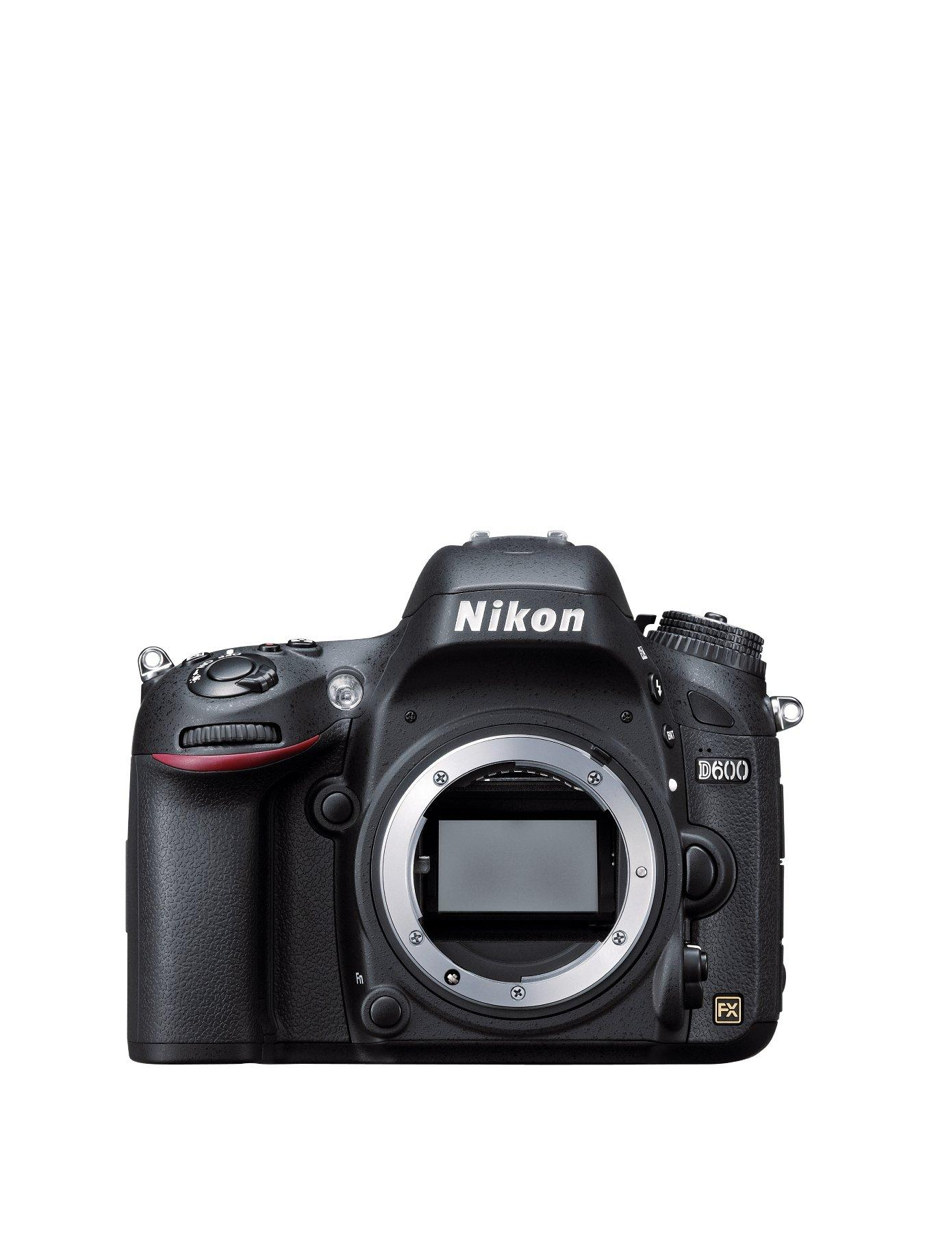 Nikon D600 SLR Camera Body Only 24 Megapixel, 3.2 inch LCD FHD