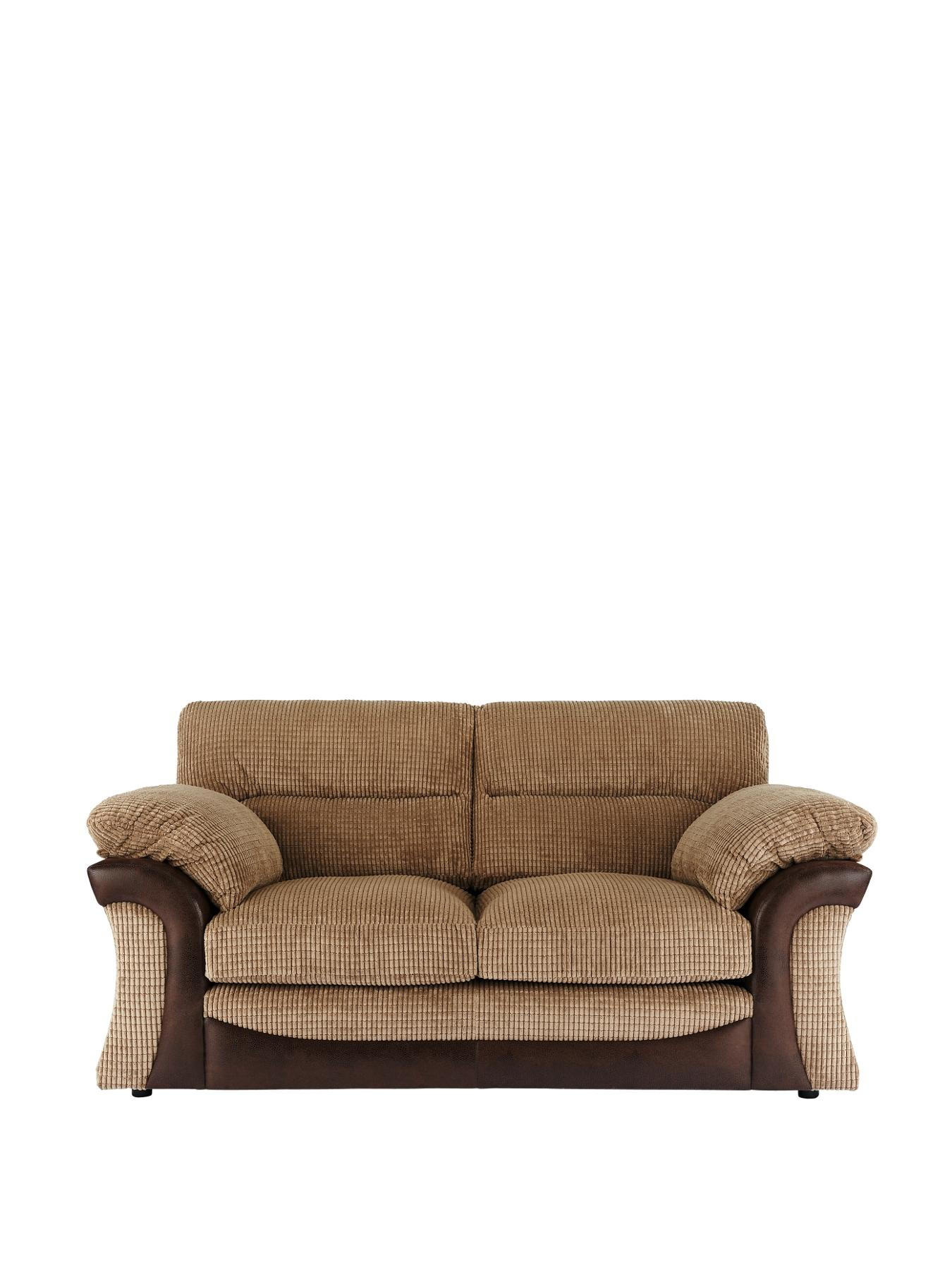 Rapide 2-Seater Sofa - Chocolate, Chocolate,Charcoal at Very, from Littlewoods