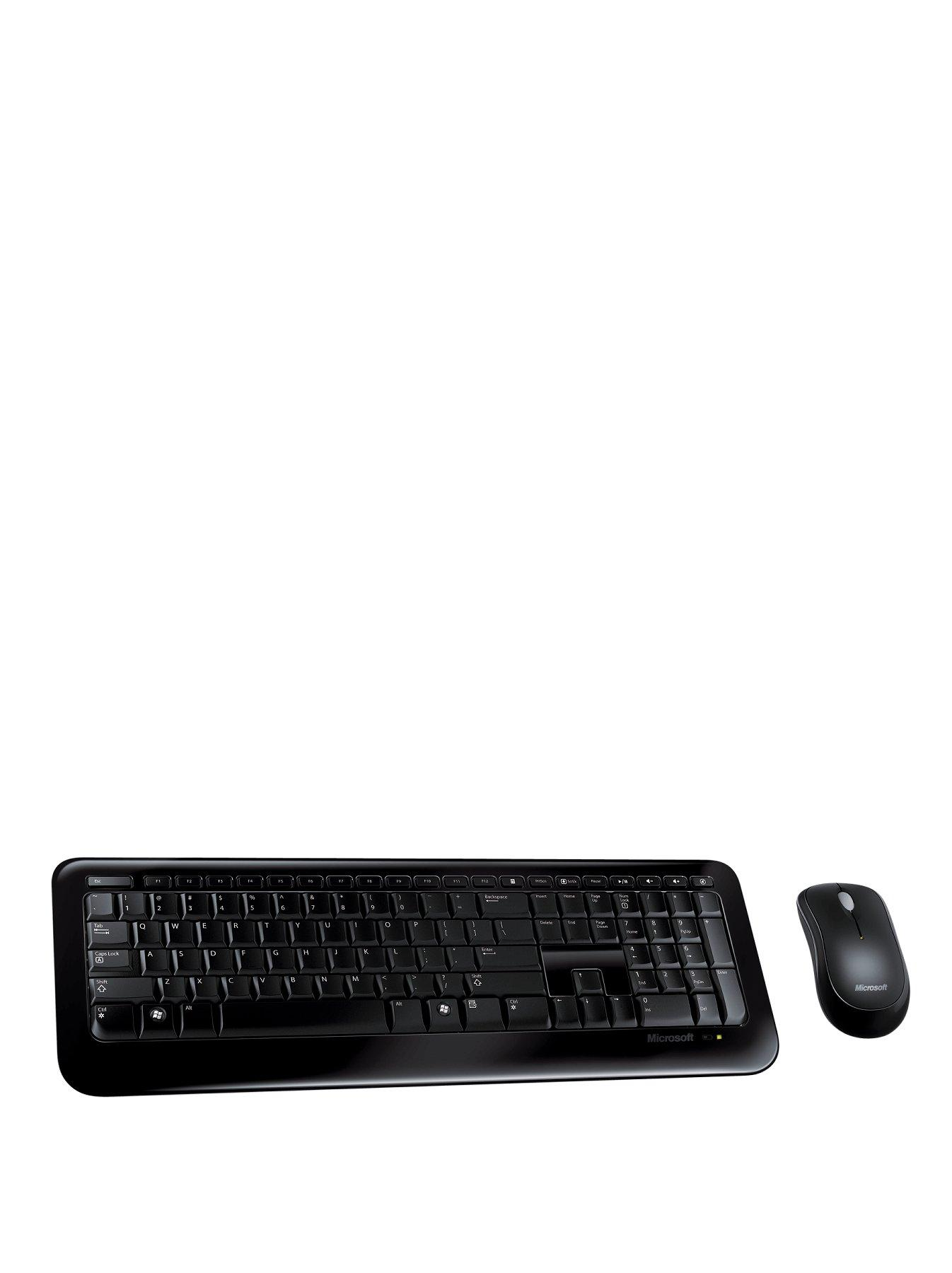 Microsoft Desktop 800 Wireless Keyboard and Mouse Set