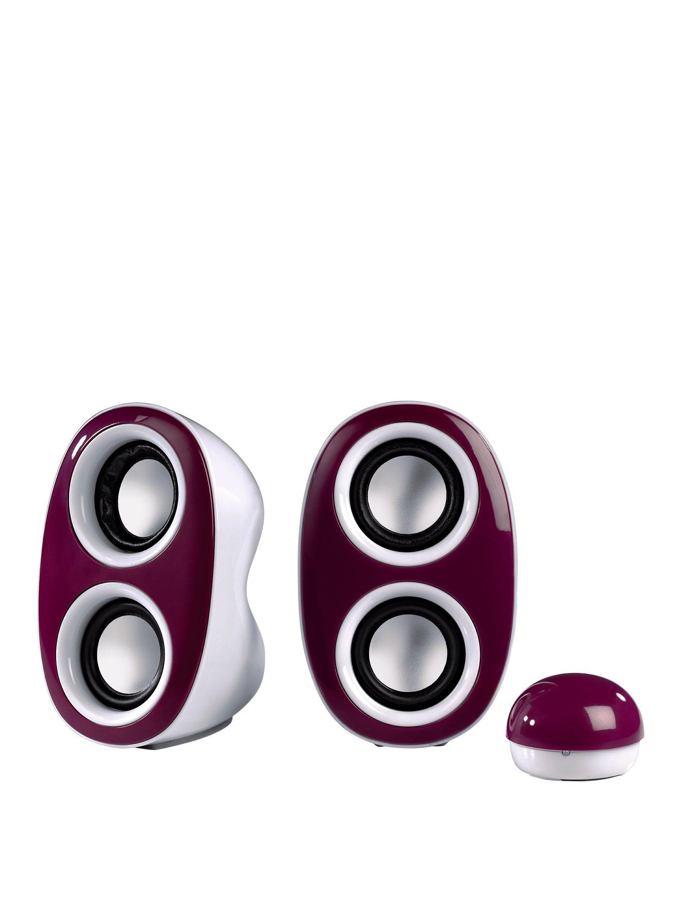 HAMA Dispersion Portable PC Speakers - Purple