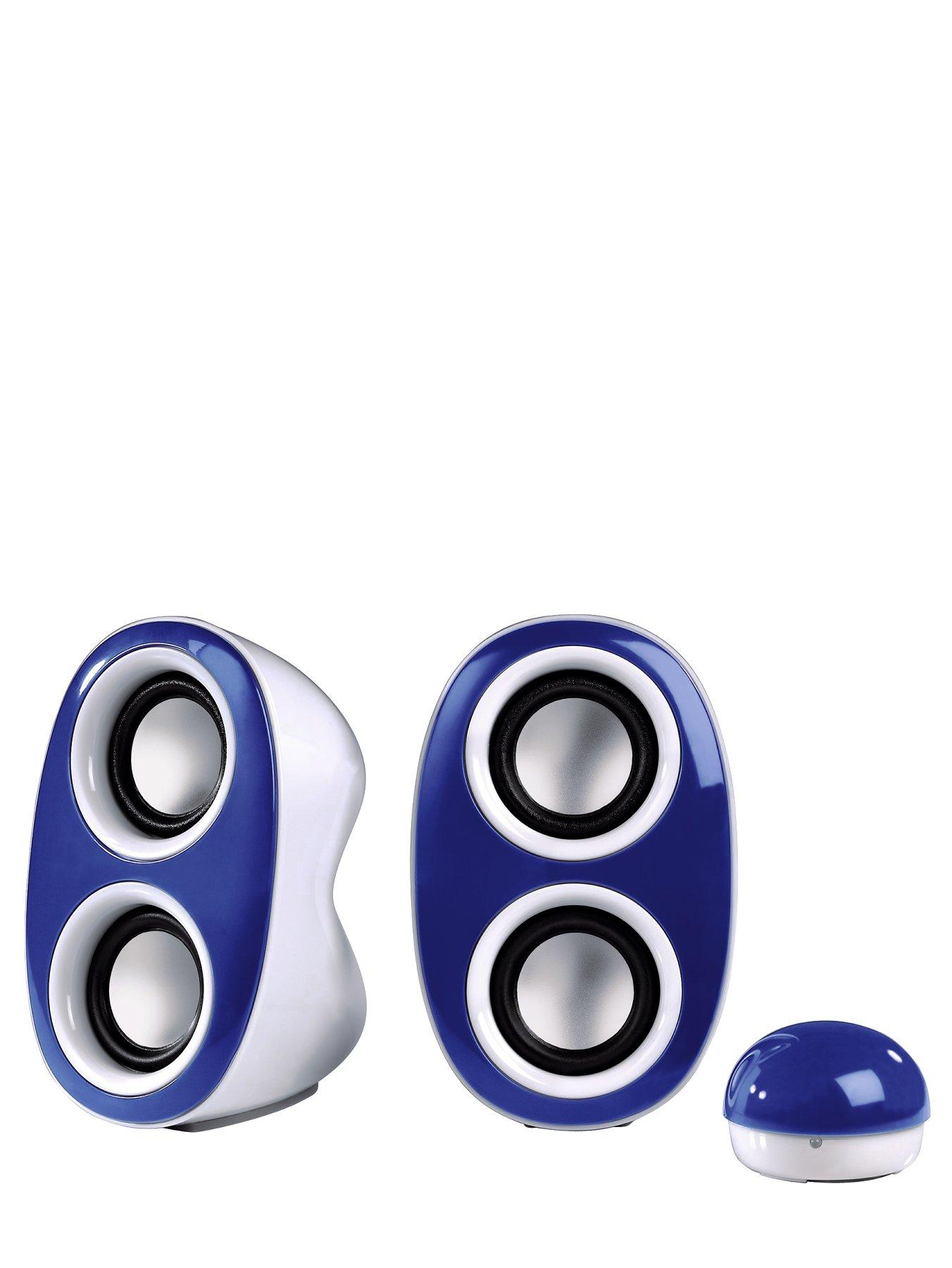 HAMA Dispersion Portable PC Speakers - Blue