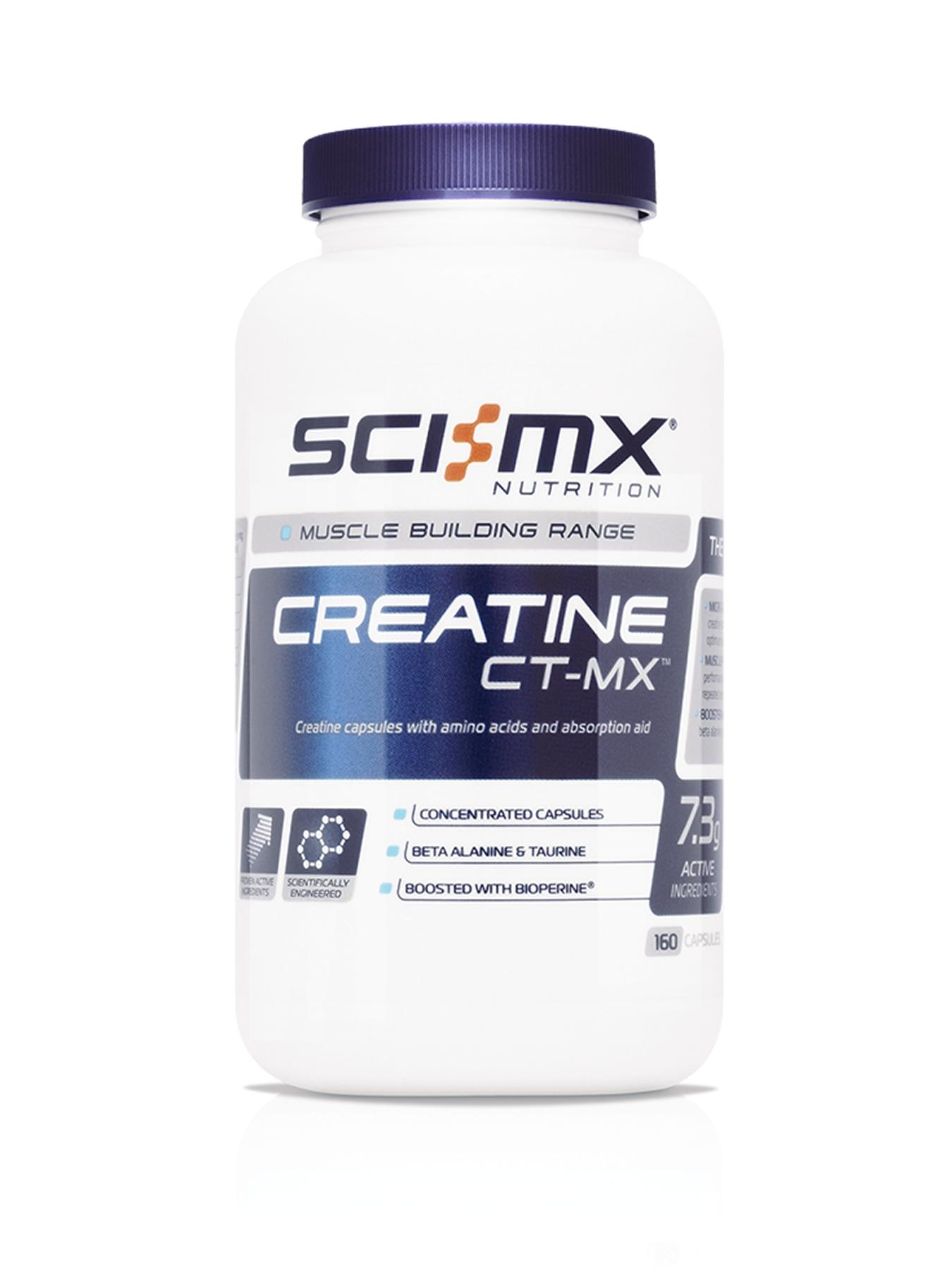 Sci-MX Creatine CT-MX (160 Capsules)