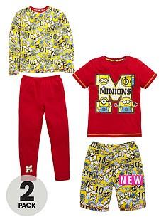 minions-boys-short-sleeve-4pk-pyjama-set