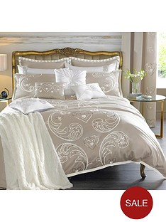 by-caprice-duchess-heart-sequin-embroidered-duvet-cover-set-champagne