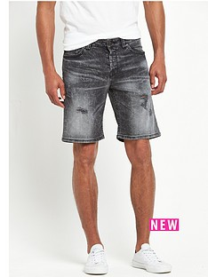 only-sons-distressed-loom-shorts