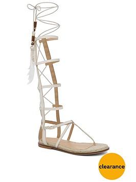 aldo-capro-feather-gladiator-sandalnbsp