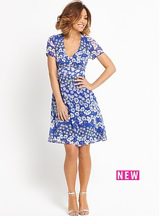 myleene-klass-v-neck-tea-dress