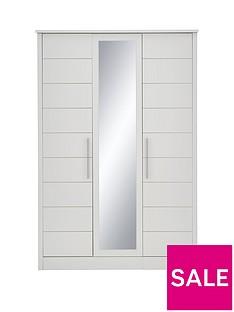 Consort Liberty 3 Door Mirrored Wardrobe