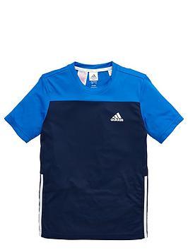 adidas-older-boys-poly-training-t-shirt