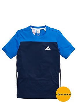 adidas-older-boys-poly-training-t-shirt
