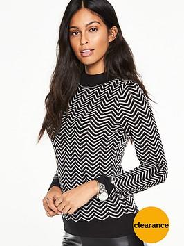 v-by-very-chevron-stripe-jumper