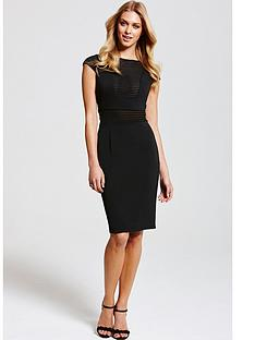 paper-dolls-black-contrast-stripe-dress