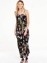 Strap Detail Jersey Maxi Dress