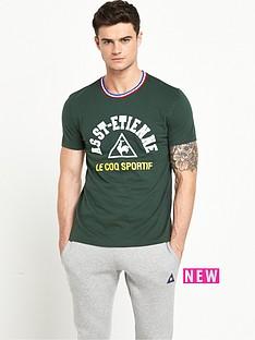 le-coq-sportif-le-coq-sportif-logo-t-shirt
