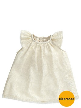 mamas-papas-baby-girls-occasion-metallic-dress