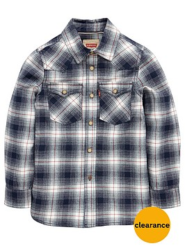 levis-boys-ls-check-shirt