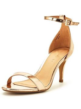 Gold Heels | Golden Heel Shoes | Very.co.uk