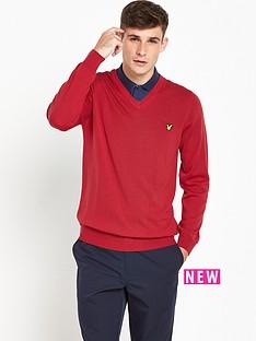lyle-scott-lyle-amp-scott-golf-nevis-v-neck-merino-pullover
