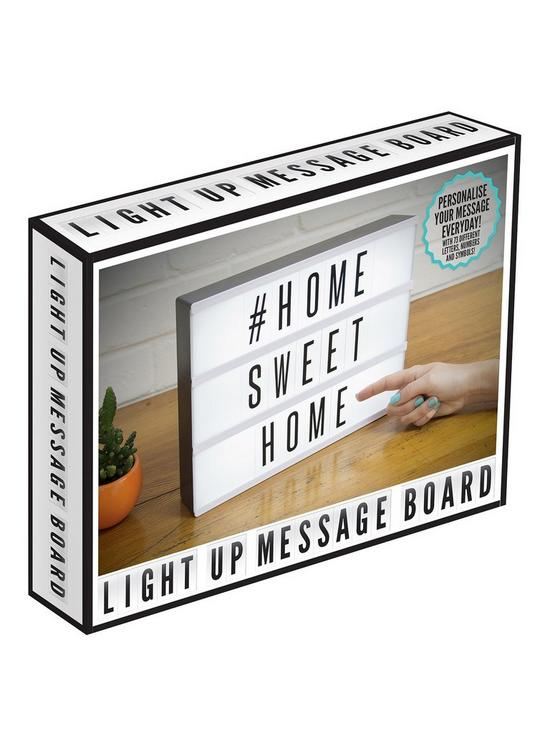 Image result for Light Up Cinematic Message Board