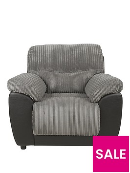 sienna-fabricfaux-leather-static-armchair