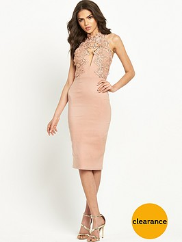 rare-scallop-lace-bodycon-dress-blush-pink