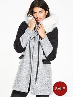 v-by-very-faux-fur-collar-block-coatnbsp