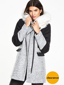 v-by-very-faux-fur-collar-block-coatnbsp
