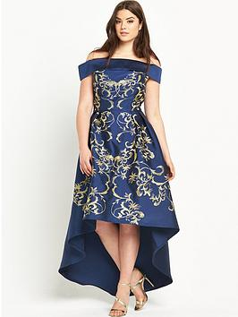Chi Chi London Curve Hi-Lo Dress