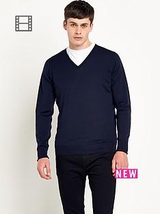 john-smedley-mens-merino-wool-v-neck-jumper