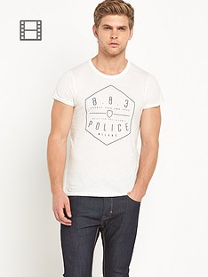 883-police-edgar-mens-logo-t-shirt