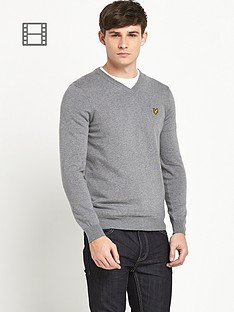 lyle-scott-v-neck-jumper
