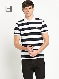 lyle-scott-block-stripe-polo-shirt