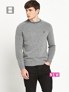 lyle-scott-fairisle-elbow-patch-jumper