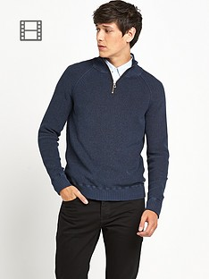 boss-orange-14-zip-jumper