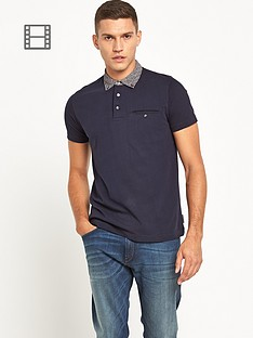 french-connection-mens-floral-collar-polo-shirt