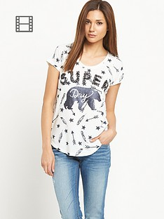superdry-wilderness-sparkle-tee