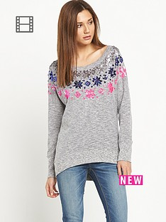 superdry-fair-isle-glimmer-slouch-top
