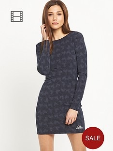 superdry-winter-print-body-con-dress