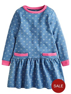 joules-bangles-horseshoe-print-long-sleeve-dress