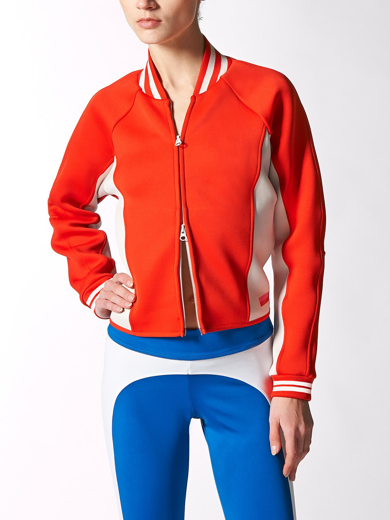 adidas Stellasport Space Bomber Jacket - Red, Red