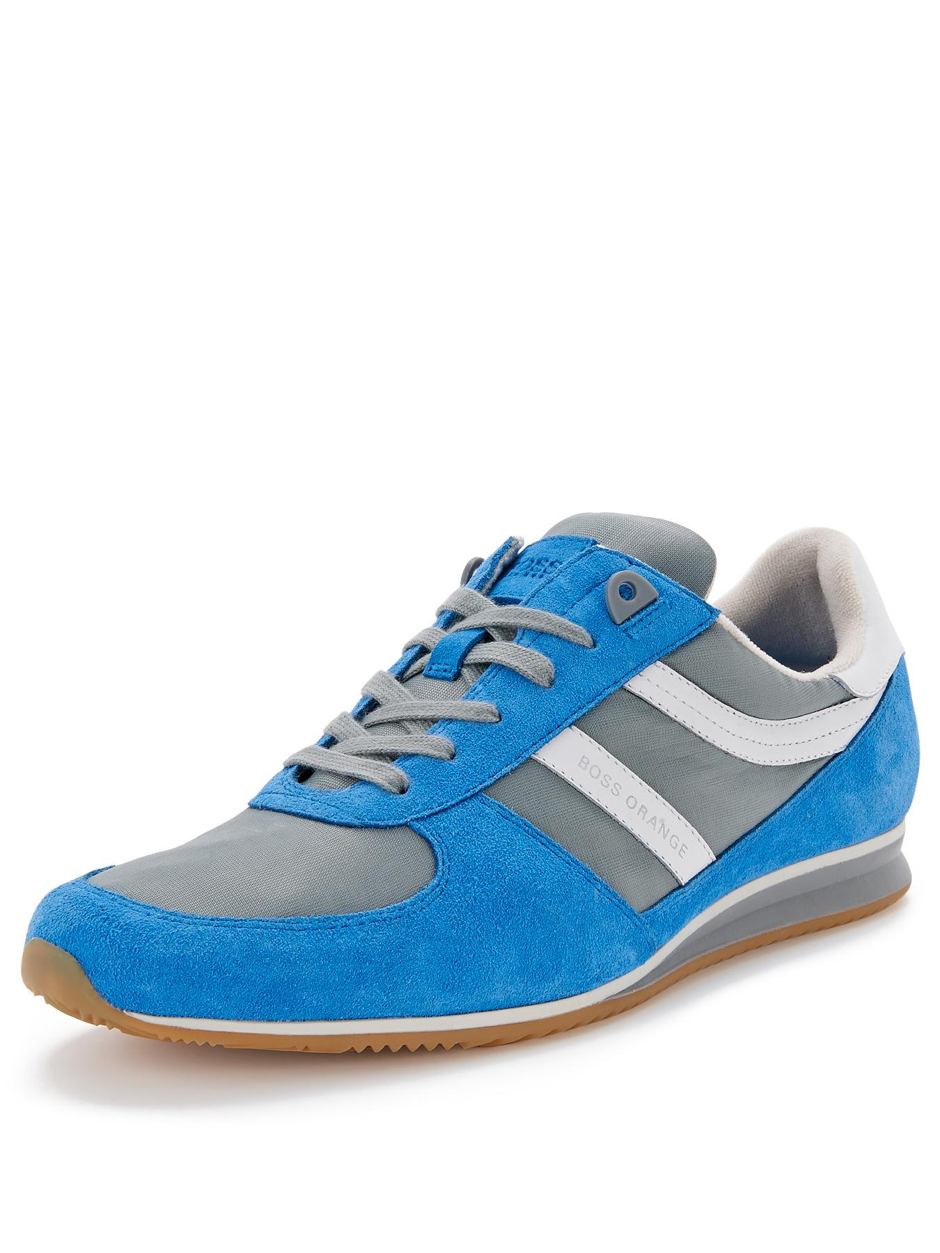 Hugo Boss Orange Adinous Lace Trainers - Blue, Blue