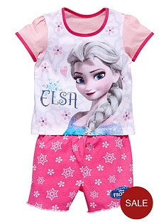 disney-frozen-girls-elsa-short-pyjamas