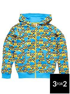 minions-boys-minion-zip-through-hoodie