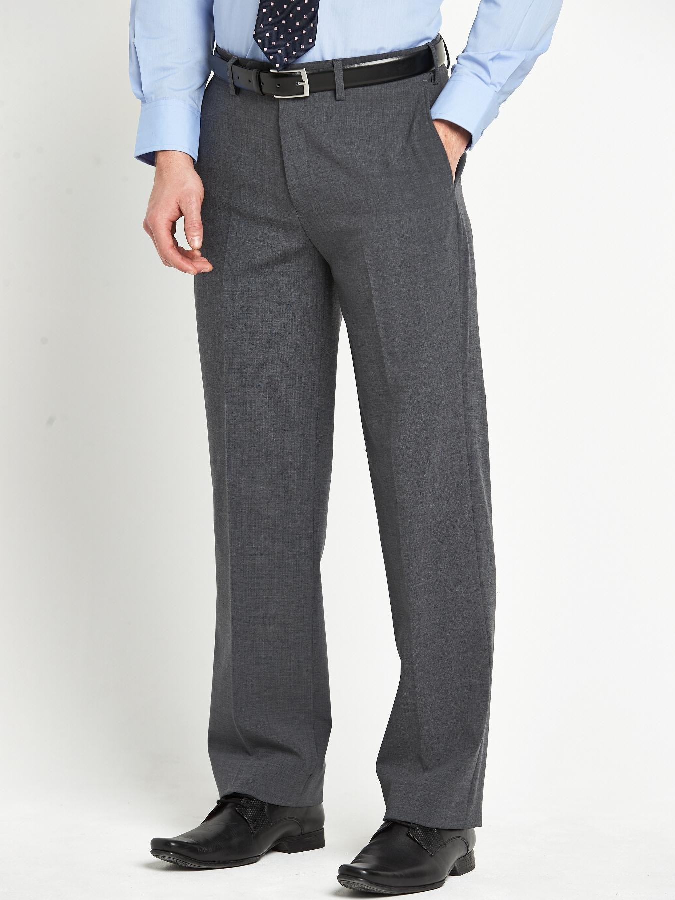 Skopes Mens Ohio Suit Trousers - Grey - Grey, Grey