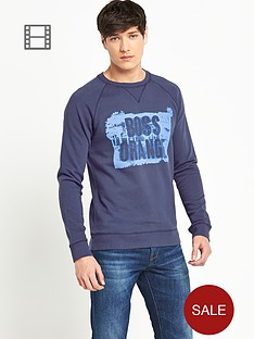 boss-orange-mens-crew-neck-big-logo-sweatshirt