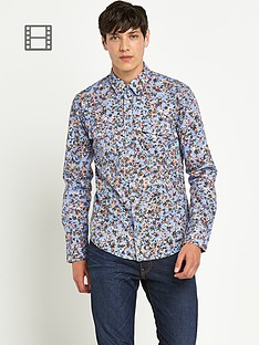 boss-orange-mens-rainbow-floral-shirt