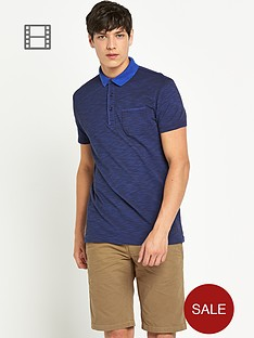 boss-orange-mens-space-effect-slub-pique-polo-shirt