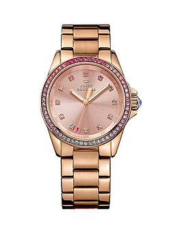 juicy-couture-pink-and-purple-crystal-bezel-rose-gold-tone-bracelet-ladies-watch