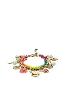 juicy-couture-multi-coloured-woven-charm-bracelet