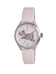 radley-stainless-steel-cut-through-dog-dial-leather-strap-ladies-watch